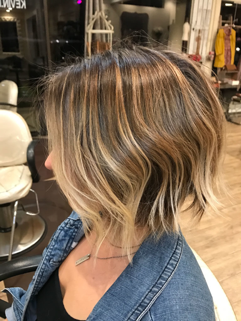 textured bob, balayage, ombre, babylites, babylights, color, rooted hair, lived in hair, blonde, brunette, bronde, san diego, best colorist